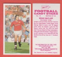 Manchester United Brian McClair 19